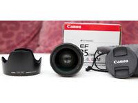 Canon EF 35mm f/1.4 L USM - Excellent Condition
