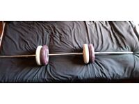 **Bargain**Barbell And Weights**