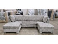 SEAL PACKED    BRAND NEW U SHAPED SOFA SUIT IS IN STOCK    DELIVERY FREE   