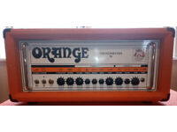 Orange TV50H Thunderverb 50 with footswitch and flight case