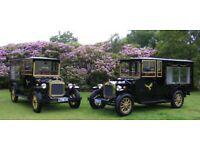 vintage hearse funeral car hire