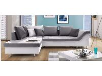 Delivery 1-10 days Chaise Longue Corner Sofa Bed Brand New Bed Function and Storage