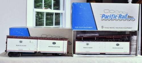 S Gauge-Pacific Rail 2320 NYC New York Central Steel Ice Reefer 9159 9260