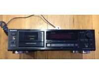 Sony TC-K520 Hi-fi Stereo Cassette Deck - Just Serviced - Excellent Condition