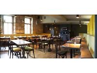 part time experienced bar staff needed @ the bungo bar and kitchen