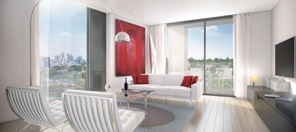 LUXURY 2 BED 2 BATH PORTRAIT BUILDING RIVER MILL LEWISHAM SE13 LADYWELL ELVERSON BLACKHEATH JOHNS