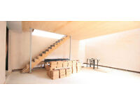 Stylish two storey office/studio in brand new modern build wih private garden and stunning light.