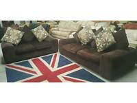 Modern 3 & 2 seater sofas in vgc and very comfortable can arrange delivery