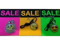 Emoji necklaces just £3 each