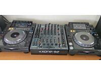 Pioneer CDJ 2000 & Allen & Heath Xone 92