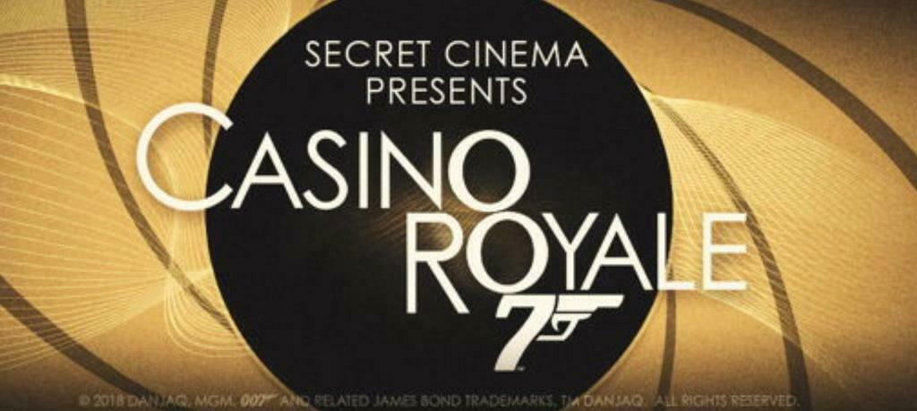 *Reduced* 2 Tickets to Secret Cinema CASINO ROYALE: 14 AUG 2019 | in  Islington, London | Gumtree
