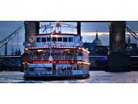 DJ Wanted - Boat Party on the Thames - this Saturday!