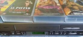 VHS original movies with Sharp video recorder