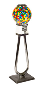 Gumball Machine Ball Globe on Stand by Beaver