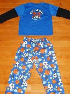 SIZE XS/4 TCP - Boys Sleepwear Set - Sports