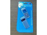 Silver Housing Fascia Cover for a Nokia 6230i