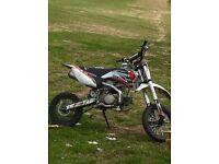 Demon x 125 pit bike