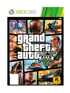 GRAND THEFT AUTO V FIVE (GTA 5) - XBOX 360