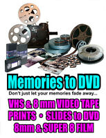 Preserve your VHS Video Memories before they fade away.