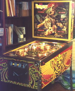 Looking for Bally Paragon Pinball backglass or spare parts