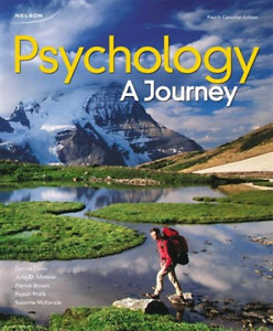 Psychology: A Journey (4th Canadian edition) + CourseMate