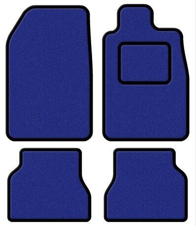 Lexus IS 200 98-05 Super Velour Blue/Black Trim Car mat set