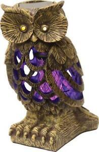 Contemporary Garden Owl Solar Inside Design Inspiration