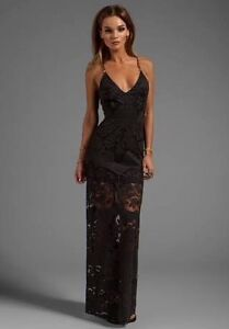 Shona Joy Black Lace Maxi Halls Head Mandurah Area Preview