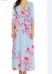 Maternity  Floral Maxi Dress X-large