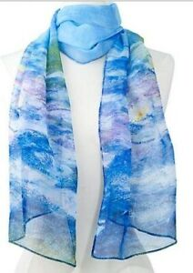 Beautiful Scarves with the Starry Night, the Kiss and more!