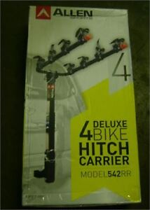 hitch mount bike carrier for 4, new