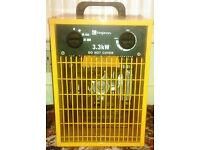 Garage Workshop 3.3kw fan heater