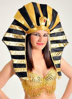 EGYPTIAN PHARAOH King Tut Cleopatra HAT HEADWEAR HEADGEAR Costume ACCESSORY New](Egyptian Pharaoh Hat)