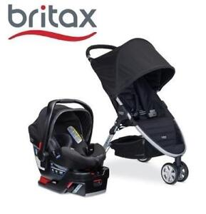 NEW BRITAX B-AGILE TRAVEL SYSTEM S04144700 140264222 STROLLER 3/B-SAFE 35  TRAVEL SYSTEM BLACK