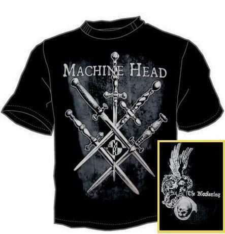 4952db3b Machine Head T Shirt   eBay