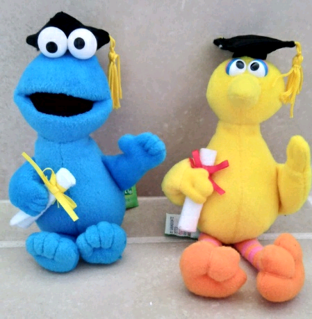 Sesame Street Graduation Plush Soft Toy | Toys - Indoor