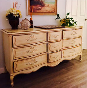 "*price drop!*French Provincial antique dresser ""open to offers"""