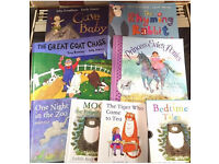 7 kids books including Judith Kerr and Julia Donaldson