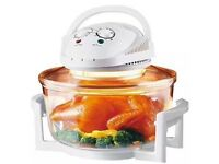Halogen Oven Cooker Digital 12ltr Steamer Tray Racks Easy Cooking
