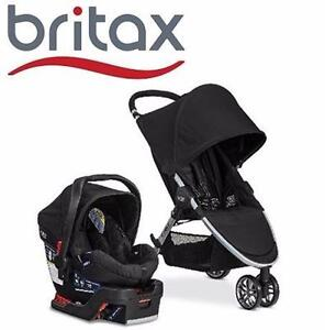 NEW BRITAX BABY TRAVEL SYSTEM   2015 B-AGILE/B-SAFE 35 TRAVEL SYSTEM BLACK - BABY TRAVEL GEAR INFANT CAR SEAT 97488632