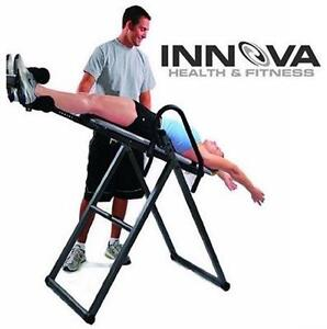 NEW INNOVA HEAVY DUTY INVERSION THERAPY TABLE 300 LBS CAPACITY HEALTH FITNESS STRENGTH EXERCISE EQUIPMENT