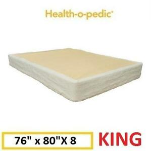 "NEW H-O-P KING MATTRESS FOUNDATION Health-o-pedic 8"" Mattress Foundation - KING 100761586"
