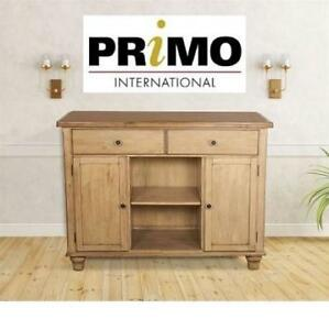 NEW* PRIMO RUSTICO WOOD BUFFET 217966920 DISTRESSED HOME HOUSE FURNITURE DECOR