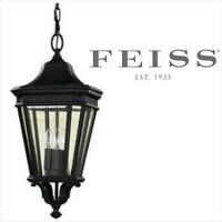 NEW FEISS COTSWOLD LANE 3-LIGHT PENDANT,BRAND NEW,