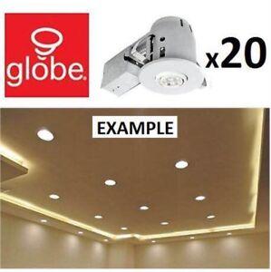"20 pcs 4"" LED potlights, brand new"