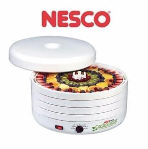 NEW NESCO 1000W FOOD DEHYDRATOR   GARDENMASTER HOME APPLIANCE KITCHEN SMALL APPLIANCES 97230454