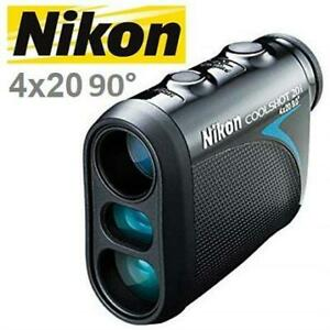 NEW NIKON COOLSHOT GOLF RANGEFINDER 16509 241702428 WITH SLOPE ADJUSTED DISTANCE