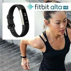 RFB FITBIT ALTA HR FITNESS BAND SM FB408SBKS 226758120 BLACK SMALL HEART RATE MONITOR FITNESS BAND REFURBISHED
