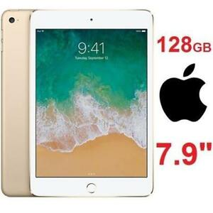NEW APPLE IPAD MINI 4 128GB WIFI MK9Q2CL/A 232579729 GOLD TABLET