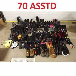 70 ASSTD SHOES FOOTWEAR LOT RETAIL RESALE RESELL BUSINESS STORE RETURNS 98682751